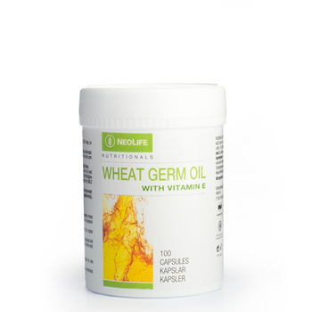 Wheat Germ Oil with Vitamin E, E-vitamiiniravintolisä